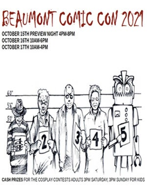 More Info for Beaumont Comic Con