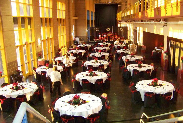 Lobby Banquet spotlight
