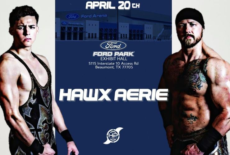 More Info for HURRICANE PRO WRESTLING MAKES ITS FORD PARK DEBUT APRIL 20, 2019!