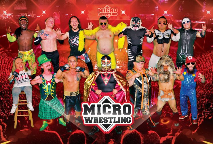 More Info for Micro Wrestling