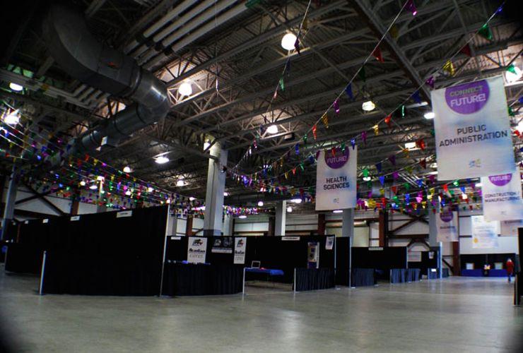 Exhibit Hall trade show spotlight
