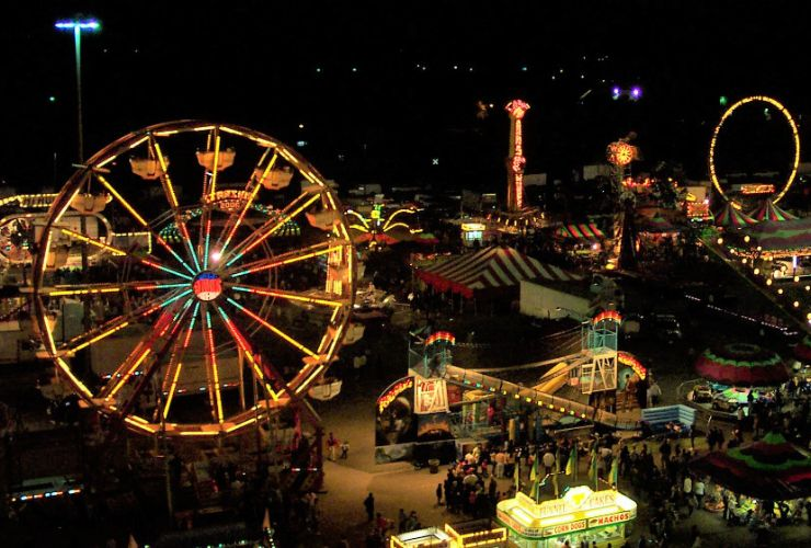 state fair spotlight